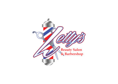 SRS Portfolio - Logos: Letty's Beauty Salon & Barbershop