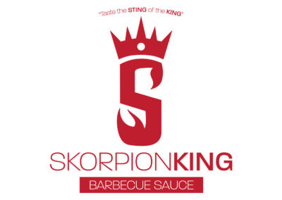 SRS Portfolio - Logos: Skorpion King Barbecue