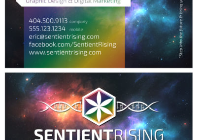 SRS Portfolio - Business Cards: Sentient Rising Solutions