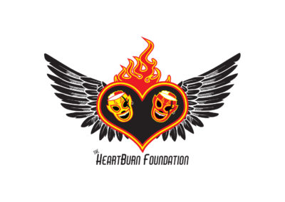 SRS Portfolio - Logos: The Heartburn Foundation